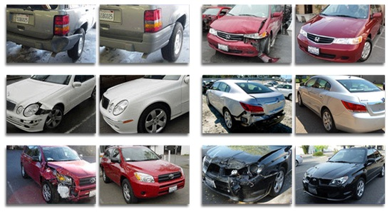 upland car body repair shop